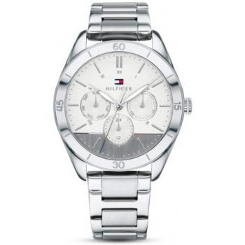 Jacques Lemans 1-1707P Milano Damen Uhr Silikonband Quarz