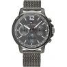 Paul Hewitt Herren Uhr  PH-C-B-BSS-5S  Black Sunray IP Schwarz/Edelstahl Meshband IP Schwarz