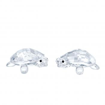 Swarovski 5394564 Baby Tortoises Schildkröten Dekofigur Kristallfigur