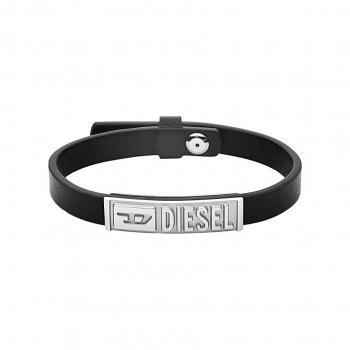 Diesel DX1226040 Armband Leder Edelstahl