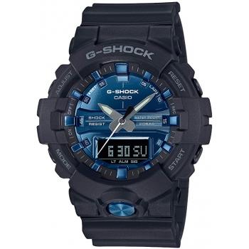 Casio G-Shock GA-810MMB-1A2ER Herrenuhr Schwarz Blau