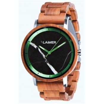 Laimer 0166 Holzuhr Luca Herrenuhr Woodwatch Apfelholz