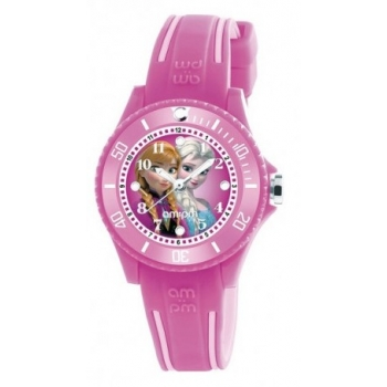 AMPM DP186-K464 Disney Kinderuhr Frozen Pink Kids