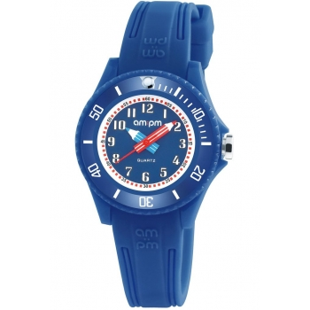 AMPM PM192-K509  Kinderuhr Blau Kids