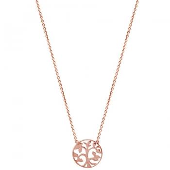 Xenox XS2896R Lebensbaum Halskette Rosévergoldet