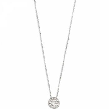 Xenox XS3565 Lebensbaum Halskette Silber