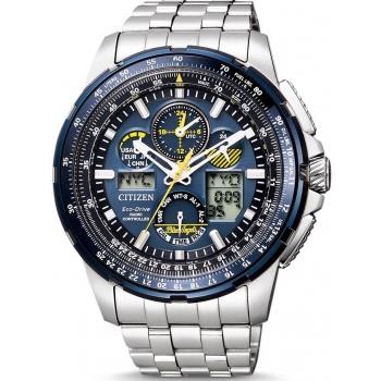 Citizen Eco Drive Promaster JY8058-50L Funkuhr Blue Angels Skyhawk Saphirglas