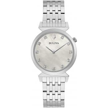 Bulova 96P216 Classic Damen Uhr Saphirglas Diamant Perlmutt