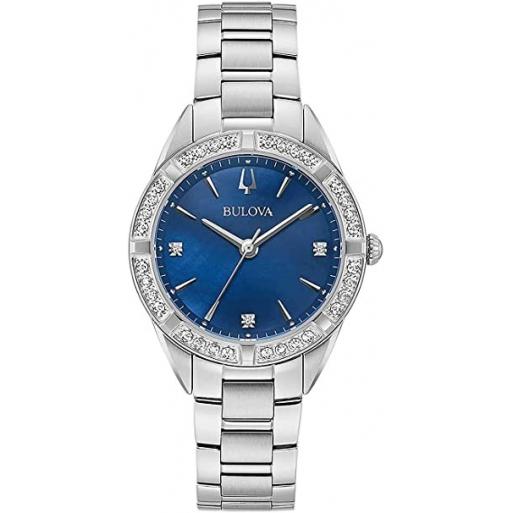 Bulova 96R243 Classic Damen Uhr Saphirglas Diamant