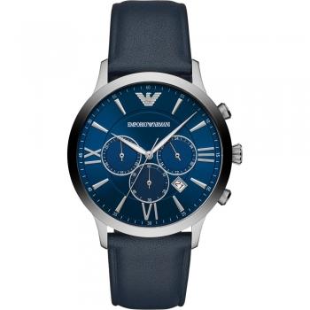 Emporio Armani AR11226 Herren Uhr Klassisch Chronograph Lederband