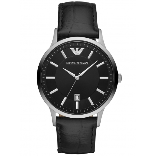 Emporio Armani AR11186 Herren Uhr Klassisch Lederband