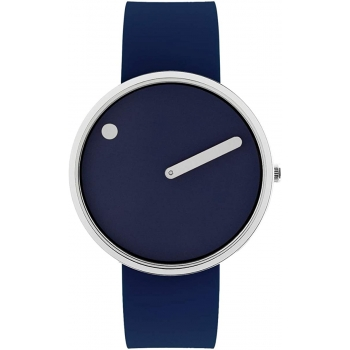 PICTO 43393-0520S Damenuhr Herrenuhr navy blue Designeruhr