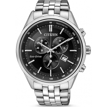 Citizen Eco Drive Funk Solar AT9034-54A Herren Uhr