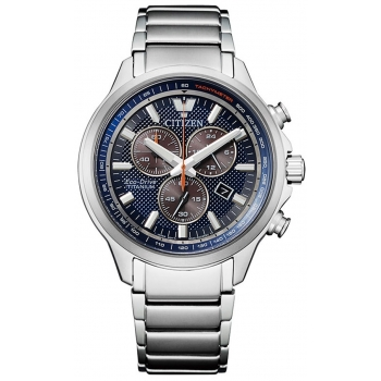Citizen Eco Drive AT2470-85L Herrenuhr Saphirglas Titan