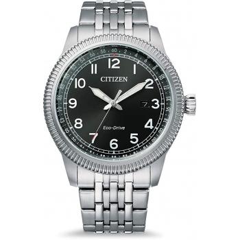 Citizen Eco Drive BM7480-81E Herrenuhr Klassik Edelstahlband