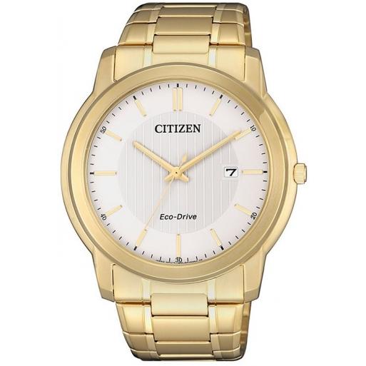 Citizen Eco Drive AW1212-87A Herrenuhr Klassik Gold