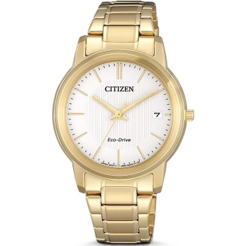 Citizen Eco Drive FE6012-89A Damenuhr Solar Gold