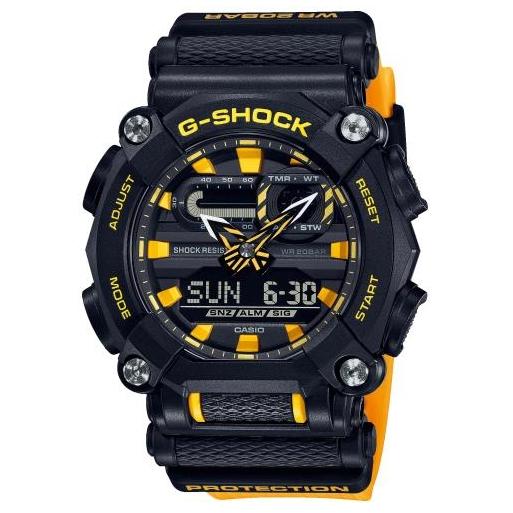 Casio G-Shock GA-900-1A9ER Herrenuhr Orange Shock Resistant