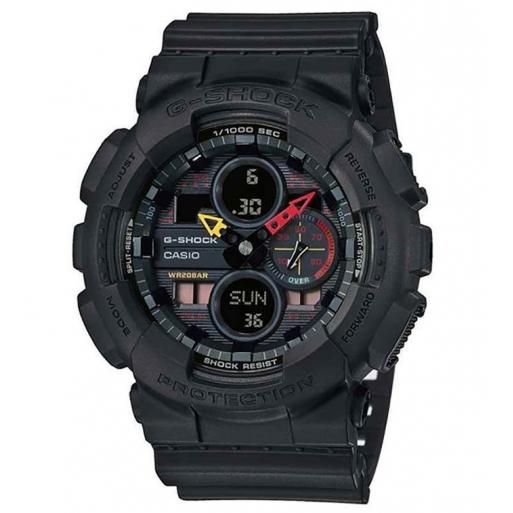 Casio G-Shock GA-140BMC-1AER Herrenuhr Black Shock Resistant