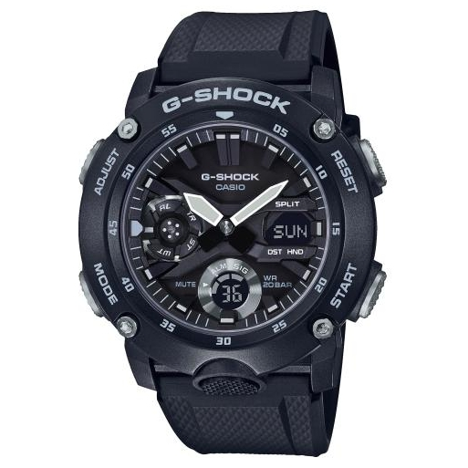 Casio G-Shock GA-2000S-1AER Herrenuhr Black Shock Resistant