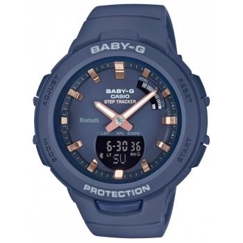 Casio Baby-G BSA-B100-2AER Damenuhr Kinderuhr Step Tracker Schrittzähler