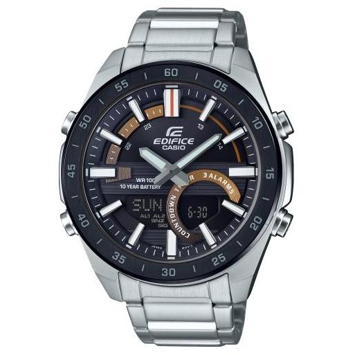 Casio Edifice ERA-120DB-1BVEF Mineralglas Herrenuhr World Time