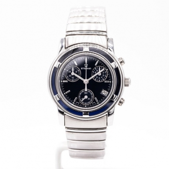 Eterna Galaxis 3806.41 Damenuhr Quarz Chronograph