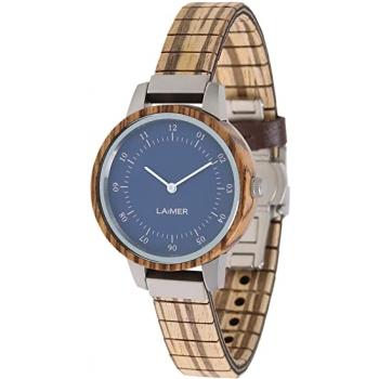 Laimer 0083 Holzuhr Woodwatch Eileen Damenuhr