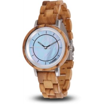 Laimer 0145 Holzuhr Woodwatch Klarissa Damenuhr