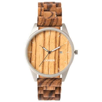 Laimer 0076 Holzuhr Ulli Herrenuhr Woodwatch