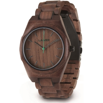Laimer 0151 Holzuhr Christiano Herrenuhr Woodwatch